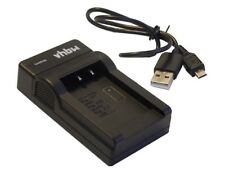 Schnell-Ladegerät [mit Micro USB Plug] fuer SONY Cybershot DSC-W620 / DSC-W630 /