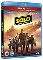 SOLO: A Star Wars Story [Blu-ray 3D + 2D] UK Exclusive 3D Movie Han Solo Film