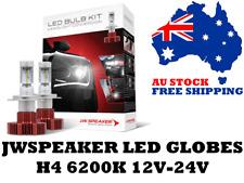 JW Speaker H4 LED Headlight Globes 12V & 24V