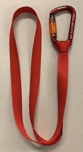 Speed line (Zip line) Kit Rigging Slings & Aluminum Carabiners - 5 Pack.
