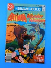 Brave And The Bold Comic Book #140 Batman And Wonder Woman VF/NM 9.0