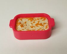 MINIATURE TRAY OF LASAGNA ~ BARBIE PRETEND FOOD DIORAMA ACCESSORIES