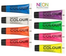 Stargazer UV Reactive Neon Body / Face Paint Set Of 8