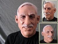 Latexmaske CHEFARZT, DOKTOR, ARZT Seriöse Männermaske Latex Gesicht Mann Maske