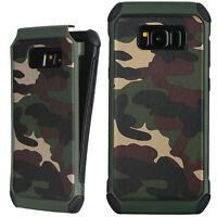 Custodia cover militare Mimetica camouflage per Samsung Galaxy S8+ S8 Plus G955F