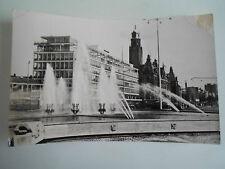 Vintage RP Postcard Rotterdam Gezicht Op Coolsingel Vanaf Hofplein Franked 1961