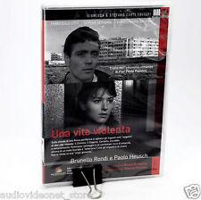UNA VITA VIOLENTA DVD + BOOKLET PAOLO HEUSCH FRANCESCO CITTI