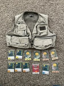 GREEN SIMMS FLY FISHING MASTER VEST MENS XL accessories