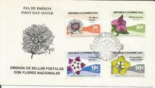 Dominican Republic  1979  Flora Flowers  Santo Domingo  FDI FDC  First Day Cover