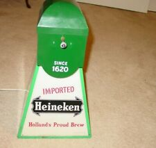 Vintage Heineken Electric Lighted Windmill Sign Base Only Works Great Early Vers