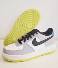 Nike Air Force One 1 Gray White Black Running 596728-051 Size 4y