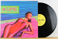 "12"" LP - LIME - Take The Love - German ZYX 20.065 - Orig. 1986"