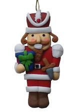 Decoración de Navidad Cascanueces soldado Sal masa saltdough Adorno Figura Regalo