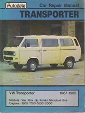 VW TRANSPORTER T2 & T25 BUS VAN & PICK-UP 1967 - 1982 OWNERS WORKSHOP MANUAL