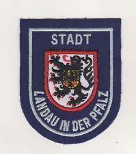 Behörden Aufnäher Patches Stadt Landau in der Pfalz