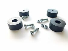 "(4) 1-5/8"" * 3/4"" Generator Rubber Feet / Foot Mount,Mounting Screws,Nuts"
