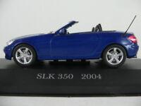 Altaya #40 Mercedes-Benz SLK 350 (2004) in blaumetallic 1:43 NEU/PC-Vitrine