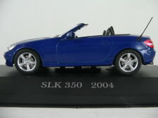 Altaya #40 Mercedes-Benz SLK 350 (2004) in blaumetallic 1:43 NEU/PC-Vitrine