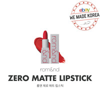 ROM&ND Zerogram Matte Lipstick 3.5g MLBB Sunset Edition K-Beauty Authentic MD