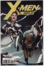X-MEN: GOLD #5 Marvel Comics Uncanny Spider-Man ANTHONY PIPER MARY JANE VARIANT!