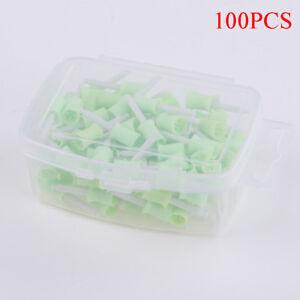 100x dental prophy cup rubber polish brush polishing tooth latch type 4webbe  Fs