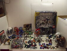 HUGE LEGO BIONICLE PARTS PIECES FIGURES ACCESSORIES LOT METRU NUI +