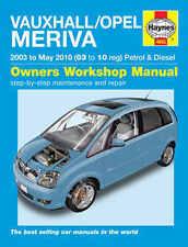Vauxhall 2008 car service repair manuals ebay vauxhall meriva repair manual haynes workshop service manual 2003 2010 4893 fandeluxe Choice Image