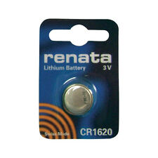 Renata Cr1620 Dl1620 Br 1620 Coin Cell Alkaline Watch Remote Car Fob Battery New
