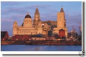 Liverpool England - Albert Dock -  Europe Travel POSTER