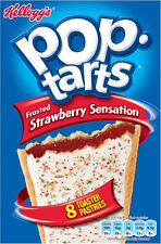 Kelloggs Pop Tarts Erdbeeren 3 X 8-pack