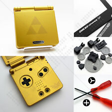 New Gold Zelda Nintendo Game Boy Advance SP GBA Case/Casing/Shell/Housing
