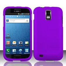 Hard Rubberized Case for Samsung Galaxy S2 T989 (T-Mobile) - Purple
