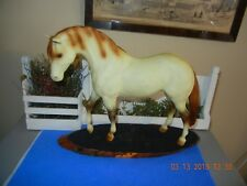 1988 Breyer Matte Flea bitten Indian Pony on Foundation Stallion mold variation