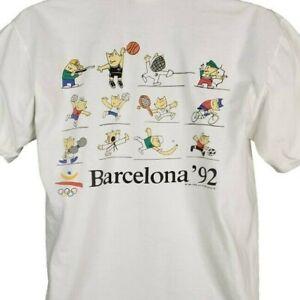 Olympic Training Center T Shirt Vintage 80s 1992 Barcelona Made In USA Medium