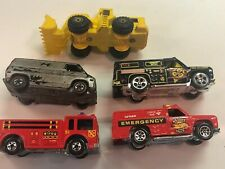 Hot Wheels Lot of 5 vehicles cars from 1974-1979 Emergency - tractor- Van