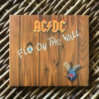 AC DC digipack CD FLY ON THE WALL remastered + superb booklet