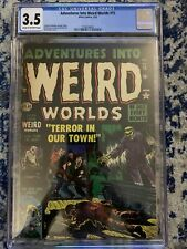 Adventures Into Weird Worlds 15 - CGC 3.5 - CR/OW Pages