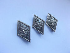 3 vintage  boys brigade  service   attendance   award   badges made in brisbane