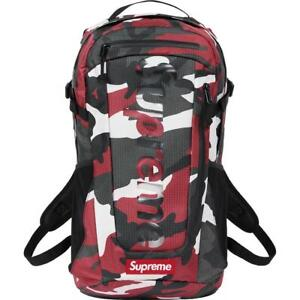 new SUPREME Backpack SS 21 SS21 Red Camo