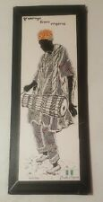 Vintage Beautiful Nigerian Wall Deco Art Edmund 8