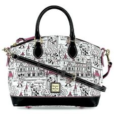Disney Parks New Release Minnie Mouse Satchel Crossbody Bag Dooney & Bourke Nwt