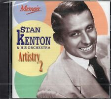 Stan Kenton And His Orchestra - Artistry 2 (Remastered) 2000 CD (New & Sealed)