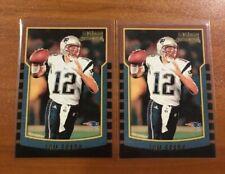 New listing 2000 TOM BRADY ROOKIE RC #236 Lot 2 New England Patriots Rp You get 2 !