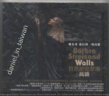 Barbra Streisand: Walls (2018) TAIWAN CD w/ SLIPCOVER SEALED