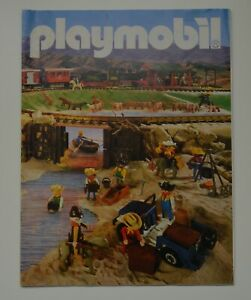 Playmobil Vintage Catalogue USA 1986 .