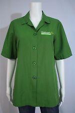 Superior Uniform Misses SMALL Walmart Neighborhood Market Green SS Uniform Shirt