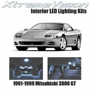 XtremeVision Interior LED for Mitsubishi 3000 GT 1991-1999 (7 PCS) Cool White