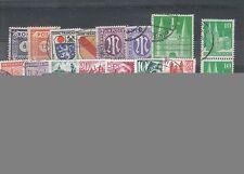 Echte Gestempelte Ungeprüfte Deutsche Briefmarken der sowjetischen Besatzungszone aus Alliierte Besetzung