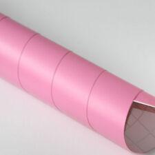 5x DIN A4 Wrapping Folie Matt Pink 21cm x 29,7cm Autofolie mit Luftkanälen