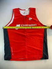 Champion System Mens Performance Link Tri Triathlon Top Large L (6545-1)